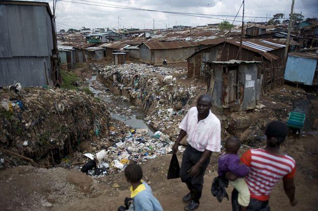 內羅畢的貧民窟