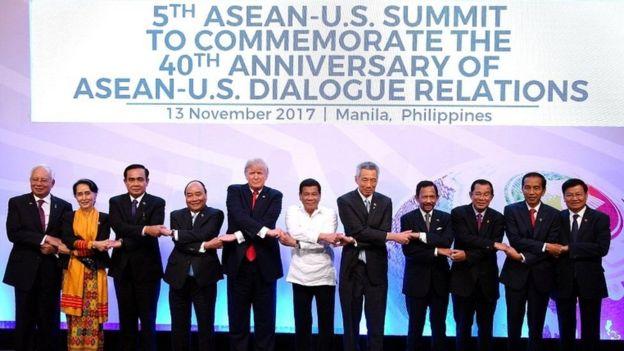 Việc đặt ra vấn đề nhân quyền cũng bị dập tắt vì nguyên tắc không can thiệp nội bộ của nhau trong khối ASEAN