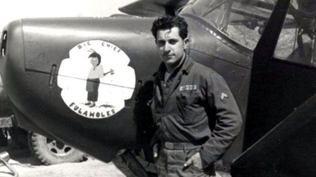 Al Blackman in the 1940s