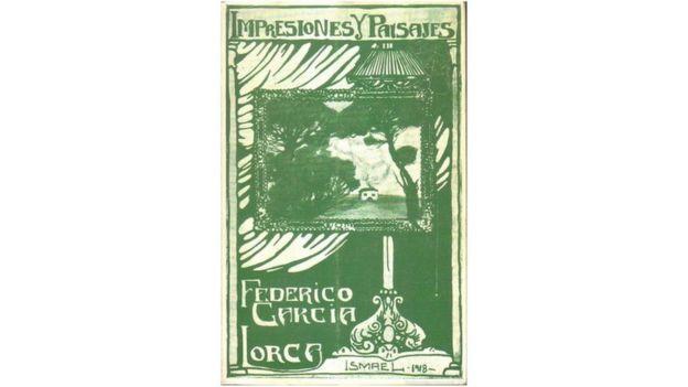 Portada del libro Impresiones y Paisajes de Federico García Lorca