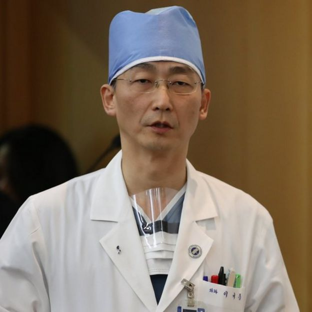 Surgeon Lee Cook-jong
