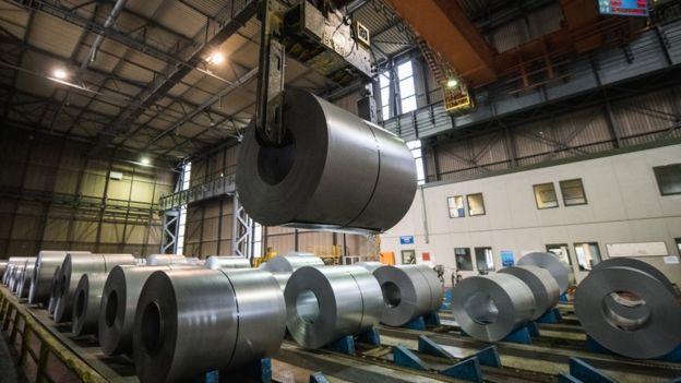 کارخانه تولید محصولات فولادی در آلمان می توانند از این سیاست ضرر ببینند