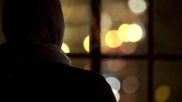 Mulher muçulmana que falou à BBC em condição de anonimato