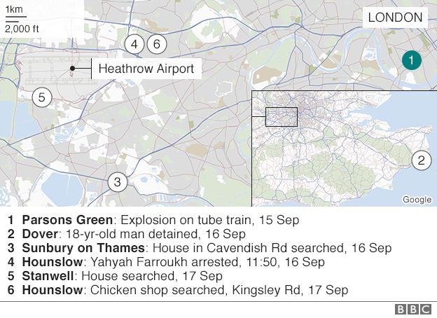 Image result for parsons green bombing  images