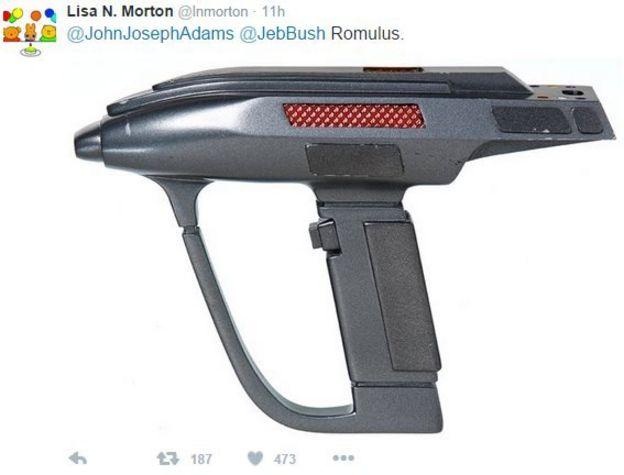A Star Trek gun