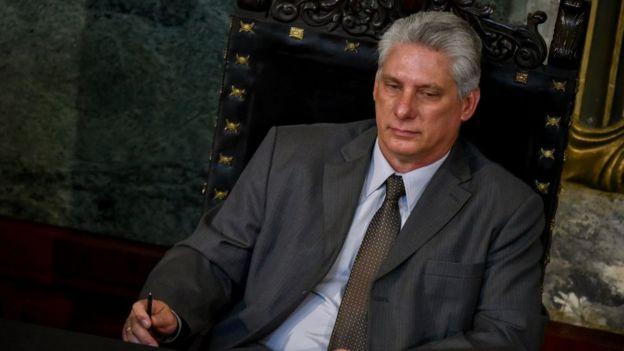 """Díaz-Canel ha subrayado en sus últimas declaraciones su apuesta por la """"continuidad"""" en Cuba. Foto: AFP"""