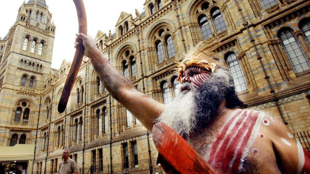 Ngarrindjeri elder Major Sumner calls for remains to be returned from Britain to Australia in 2003