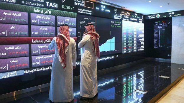 Bolsa de valores na Arábia Saudita
