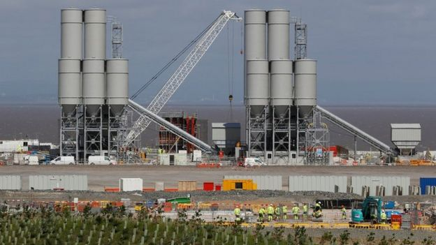 Hinkley Point C construction