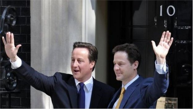 David Cameron ve Nick Clegg