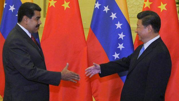 Мадуро и Си Цзиньпин
