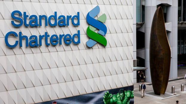 kantor Standard Chartered di Hong Kong