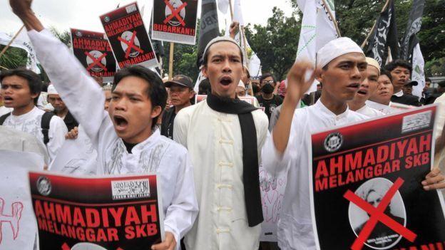 demo anti Ahmadiyah