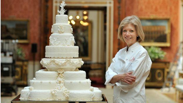 Свадебный пирог Уильяма и Кейт