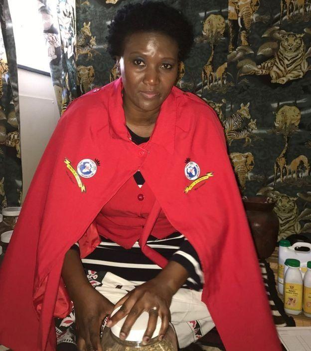 Phepsile Maseko nói sự việc này làm ảnh hưởng đến uy tín của những thầy lang chân chính