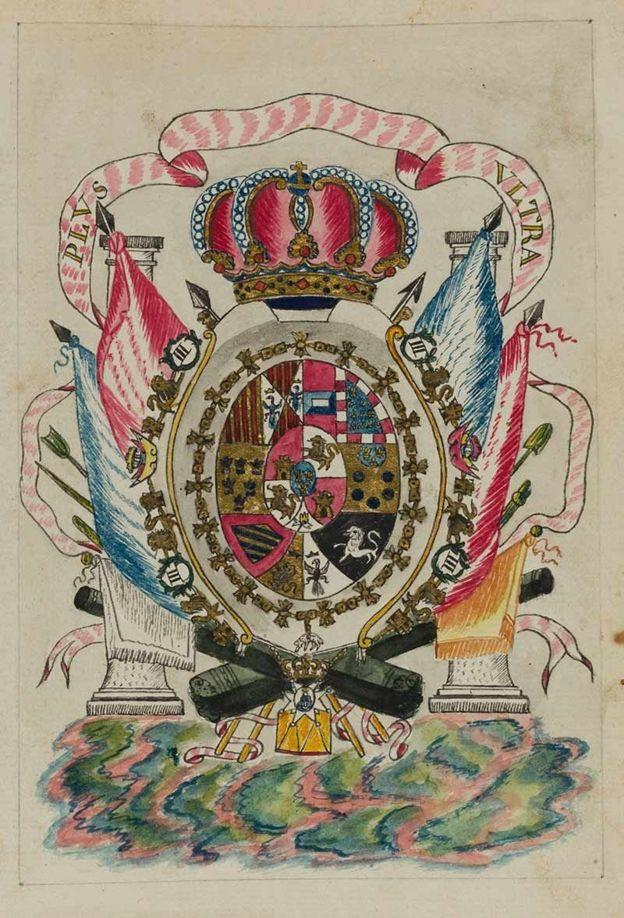 Acuarela del Códex Trujillo