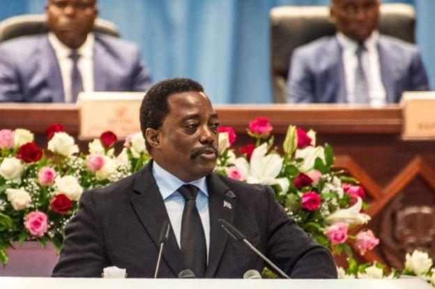 Rais Kabila akiwa na nywele nyingi