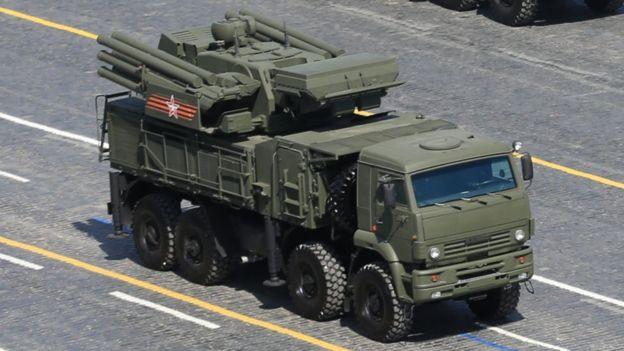 俄制SA-22地对空导弹