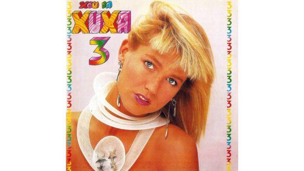 Capa de disco da Xuxa