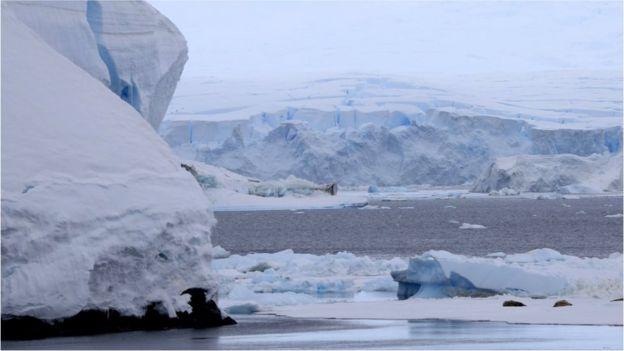 Антарктический лед