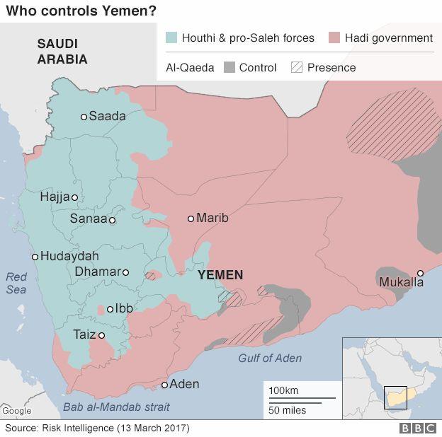 Yemen crisis Who is fighting whom  BBC News