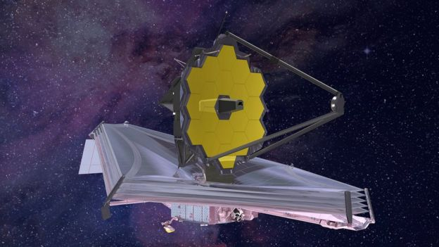 telescópio James Webb Space