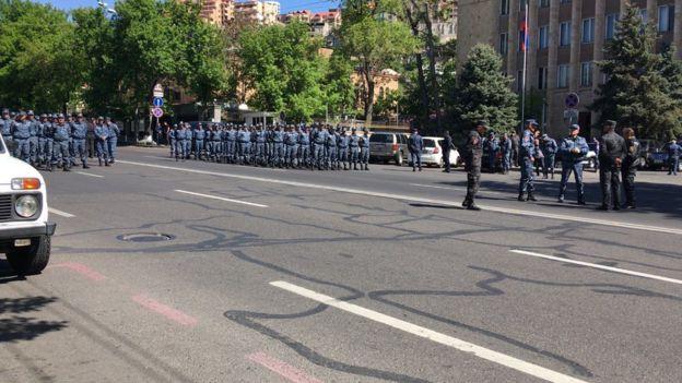 Yerevan, etiraz