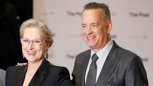 Meryl Strep and Tom Hanks