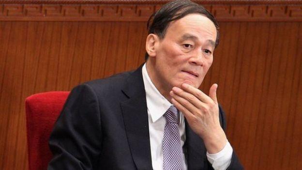 5年前中共18大後王岐山開始主管中共中央紀律檢查委員會並開始主管習近平推動的反腐運動