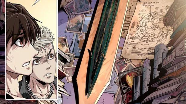 《三皇斗戰士》中的鋼鐵俠面具圖