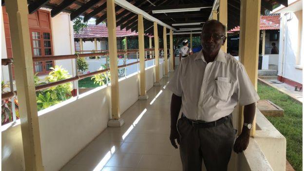 Dr Ganeshmoorthy in Jaffna main hospital