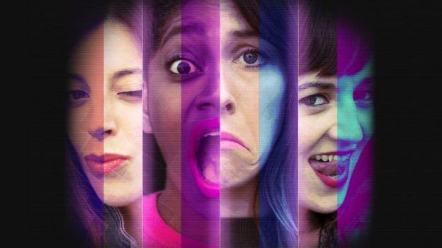 Imagen de promoción de la obra de teatro Internet fue hecha para adultos
