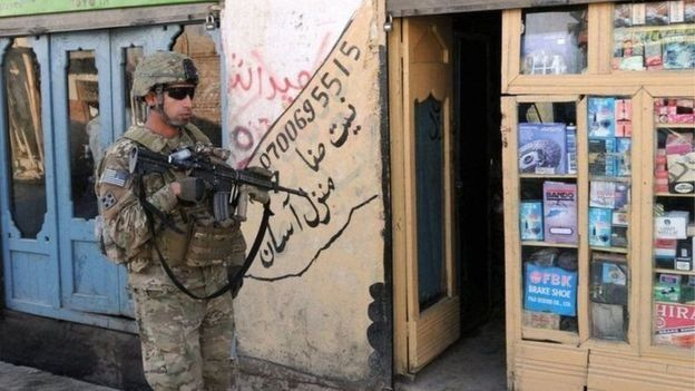 نیروهای خارجی افغانستان