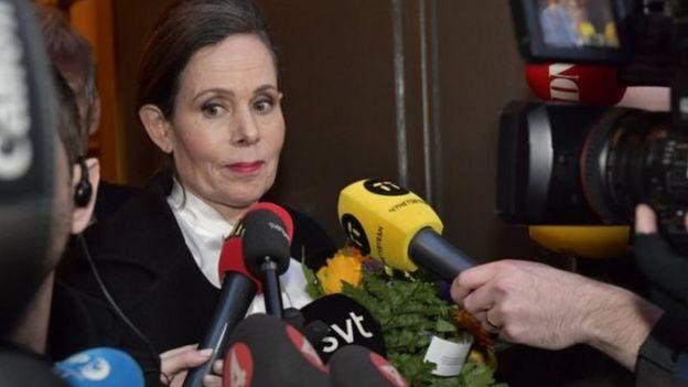 رئيسة الأكاديمية سارة دانيوس تعلن استقالتها من منصبها