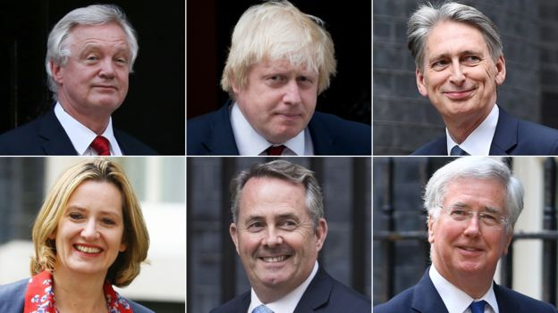 Theresa May shakes up government with new-look cabinet - BBC News