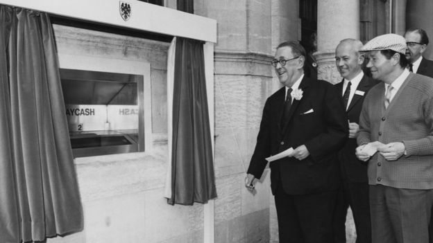 The man who really invented the cash machine - BBC News