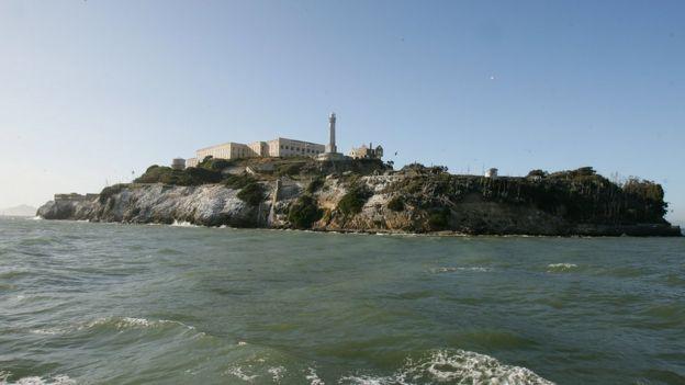 Al Capone estuvo preso en la cárcel de Alcatraz, Estados Unidos, casi ocho años.  GETTY IMAGES