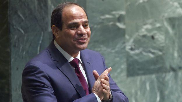 Egyptian President President Abdel Fattah el-Sisi