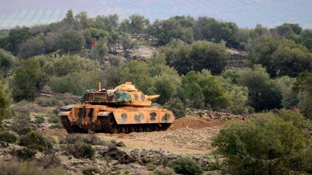 HATAY'da tank