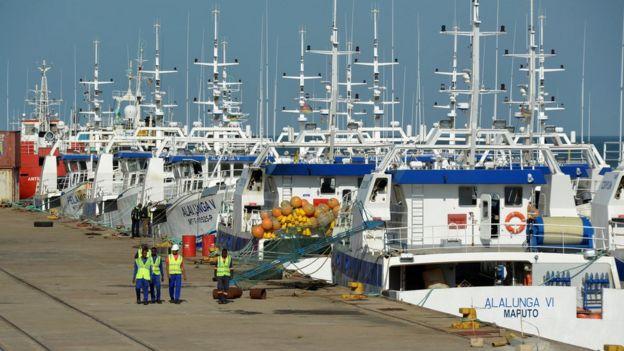Inspectores de buques pesqueros
