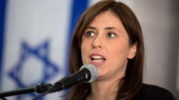 Viceministra de Relaciones Exteriores israelí, Tzipi Hotovely.