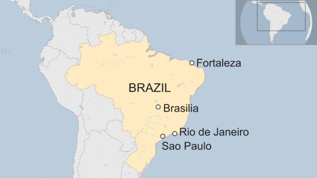 Brazil Gunmen storm Fortaleza nightclub killing 14 BBC News
