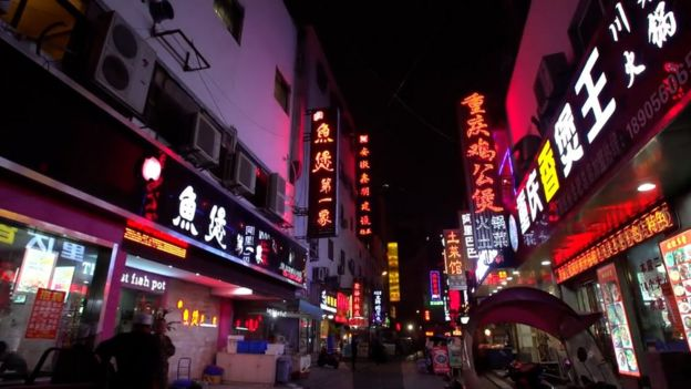 Calle de China.