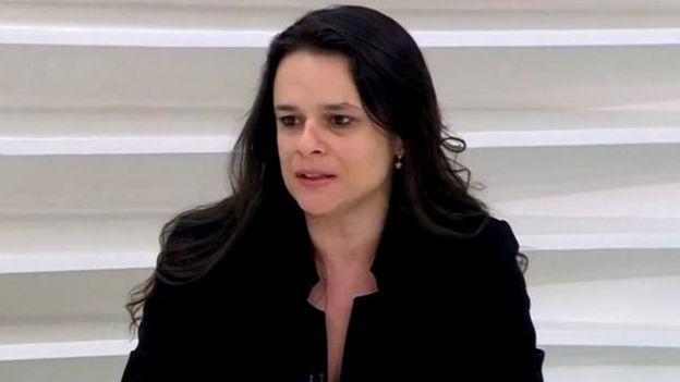 A advogada Janaína Paschoal