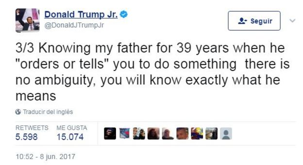 Twitter Donald Jr. Trump