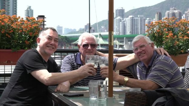 Anthony Wong and John and David Perry