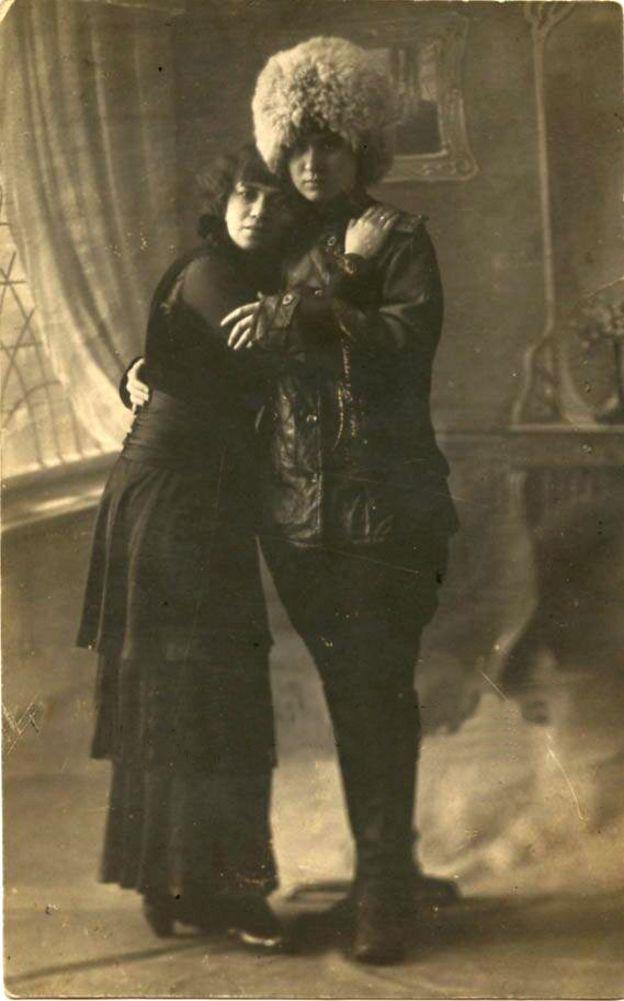 петроградские лесбиянки