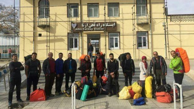 ۸ کوهنورد ایرانی در اشترانکوه کشته شدند