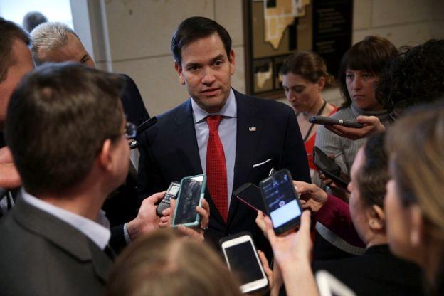 Marco Rubio expresó sus dudas sobre lo sucedido