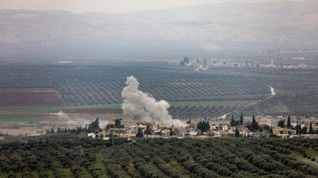 Türkiye, Afrin'deki hedefleri toplar ve uçaklarla vuruyor